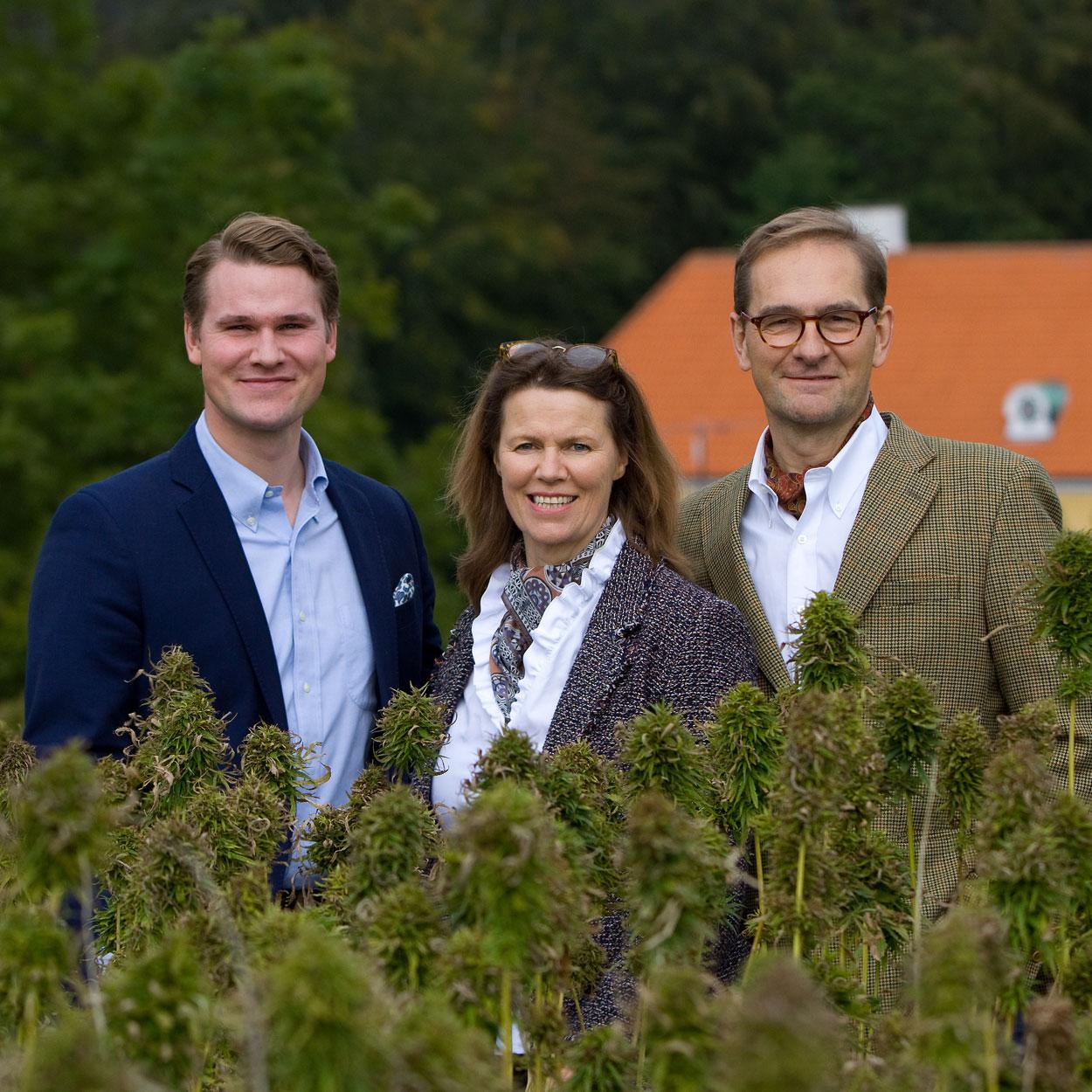 Møllerup Gods Familien Gamborg